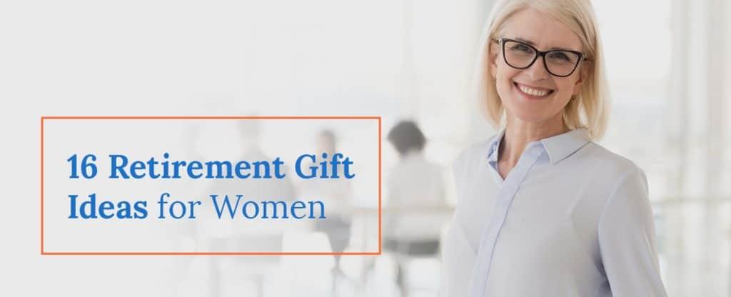 16 retirement gift ideas for women
