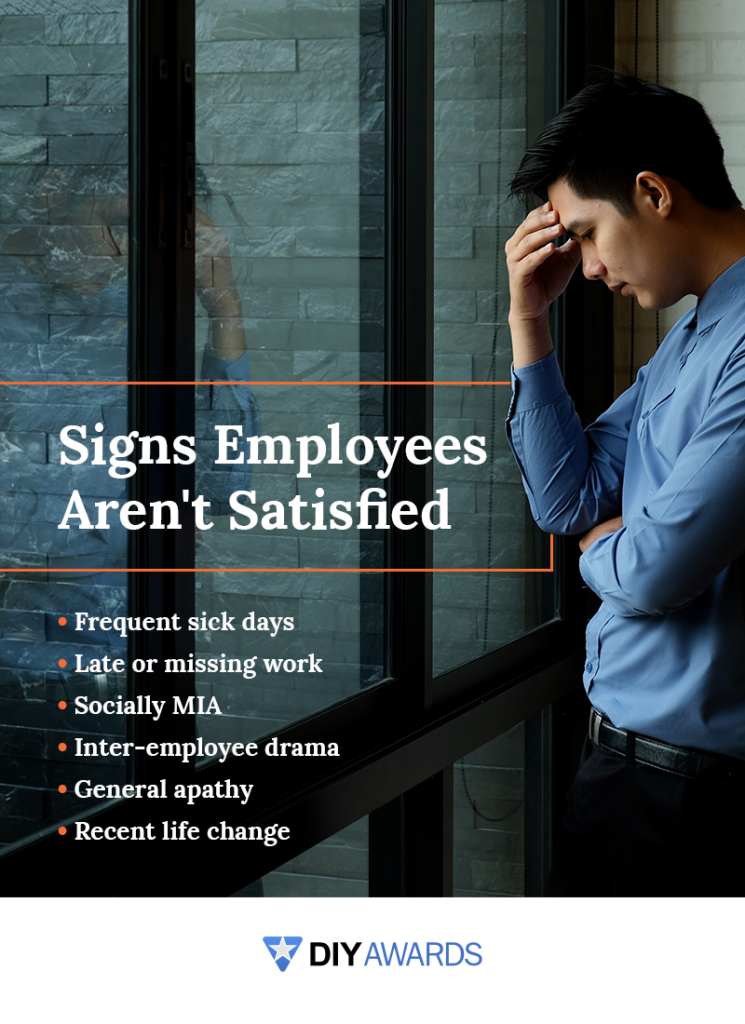 signs your employees are not satisfied with their jobs