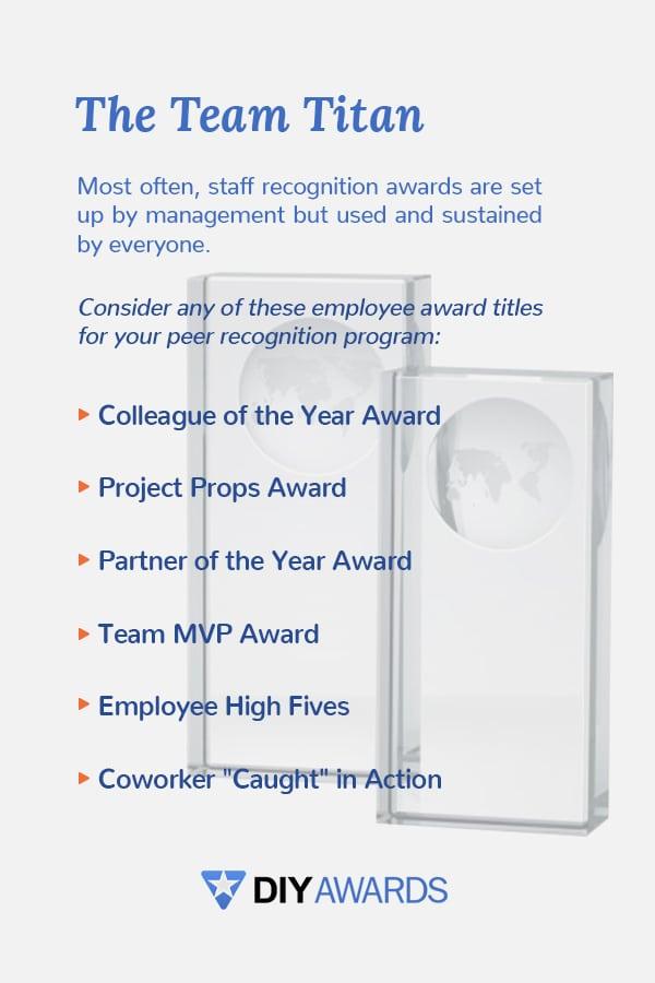 award for the team lead