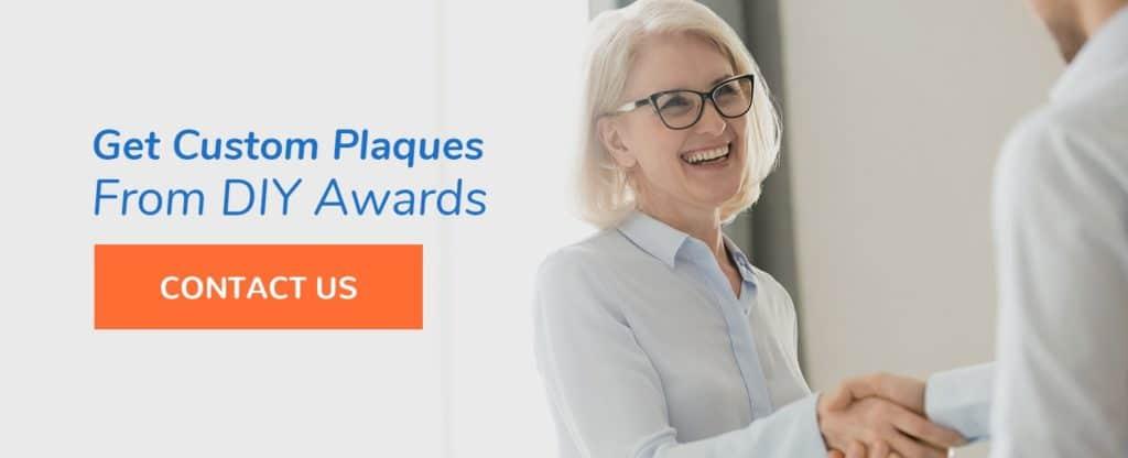 custom plaques for retirees