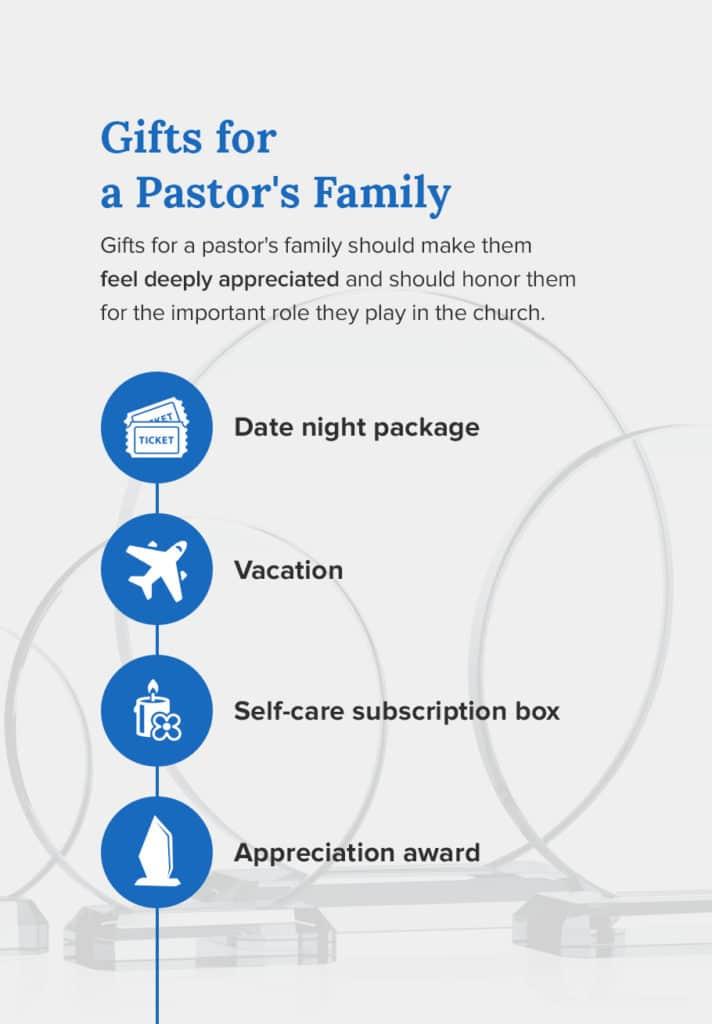 gift ideas for pastors family