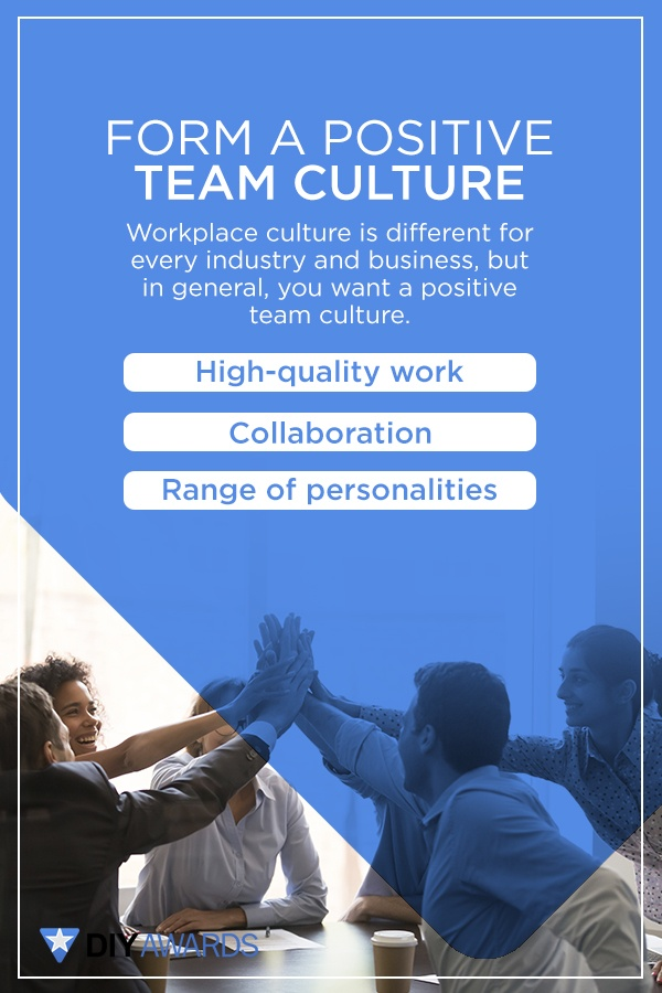 positive team culture increases productivity