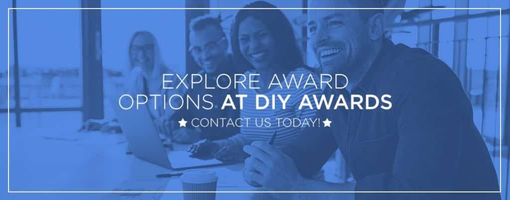 crystal awards at DIY awards