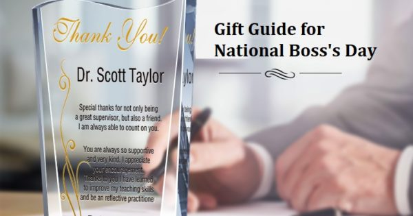 national boss's day gift guide graphic