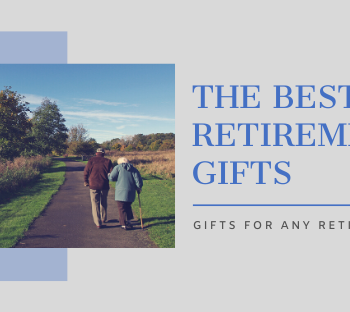 best retirement gifts graphic