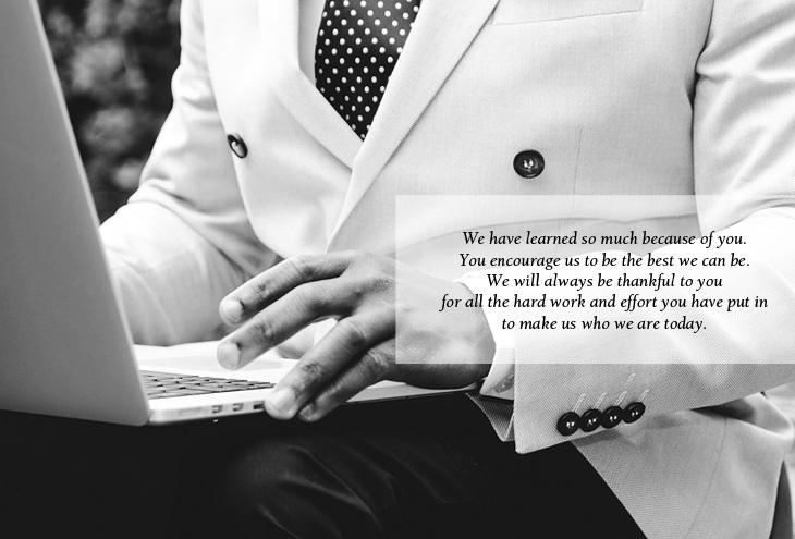 boss appreciation quotes poems