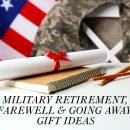 military retirement gift