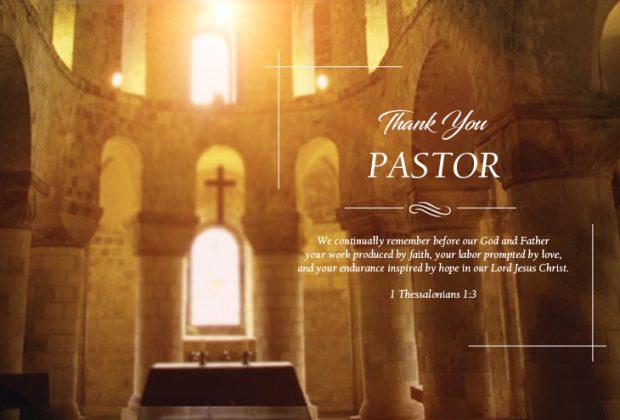 pastor appreciation poems