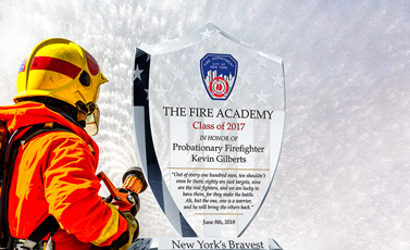Firefighter Graduation Plaques