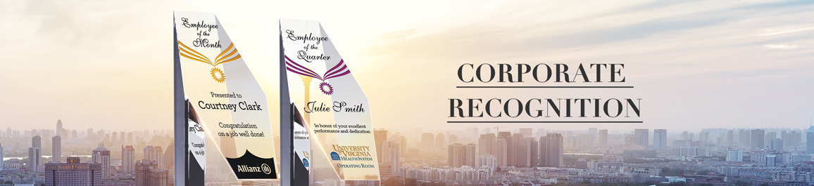 Custom Corporate Recognition Awards & Plaques - Banner 1