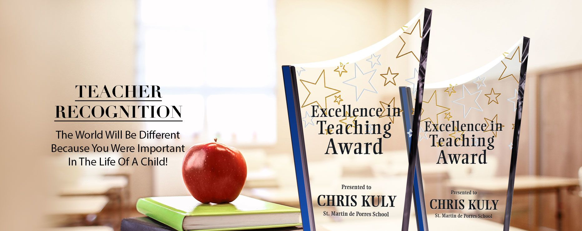 teacher recognition award wording ideas and sample layouts