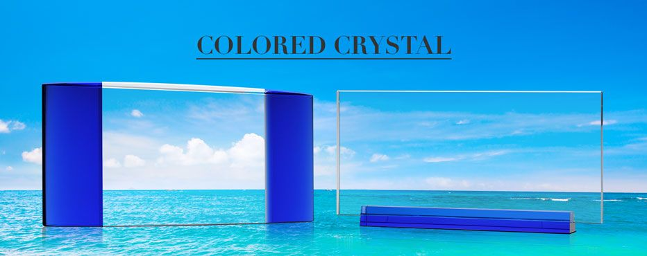 Colored Crystal Award Plaques - Banner 1