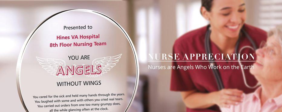 Nurse Appreciation Gift Plaques & Wording Ideas - Banner 1