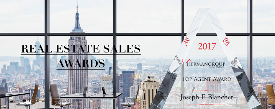 Personalized Real Estate Sales Awards Plaques & Trophies - Banner 1