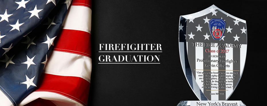 Personalized Firefighter Academy Graduation Gifts - Banner 1
