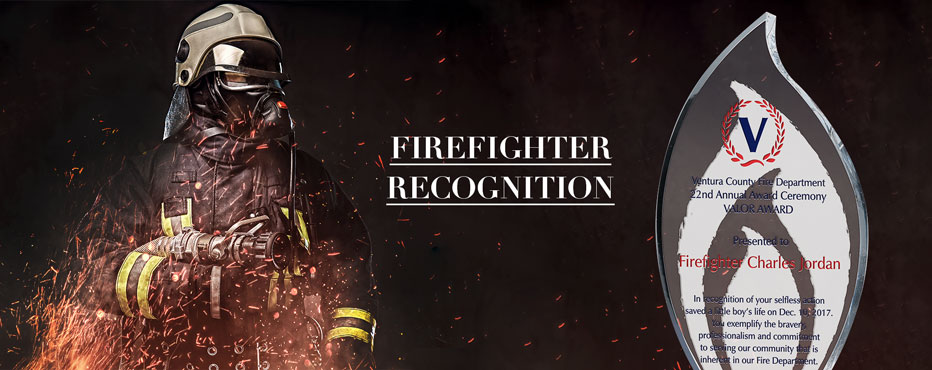 Personalized Firefighter Recognition Awards & Plaques - Banner 1