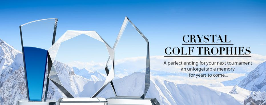 Crystal Golf Trophies & Awards - Banner 1