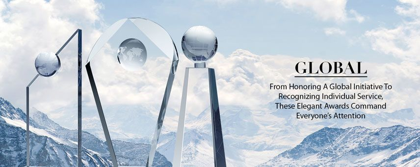 Personalized Crystal Globe Awards & Gifts - Banner 1