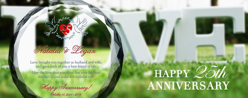 25th Wedding Anniversary Quotes, Poems, Wishes and Messages