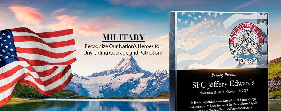 Personalized Military Awards, Plaques & Gifts - Banner 1