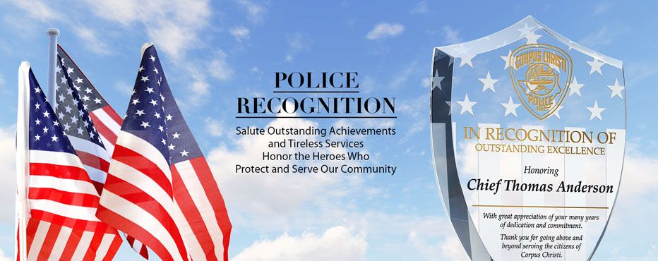Personalized Police Plaques and Awards - Banner 1