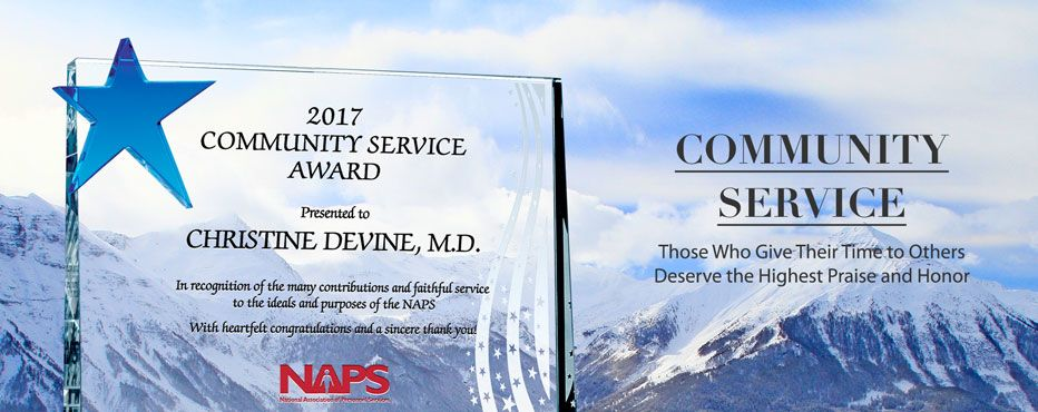 Recognizing excellence in community service,<br>Stimulate similar efforts in the community! - Banner 1