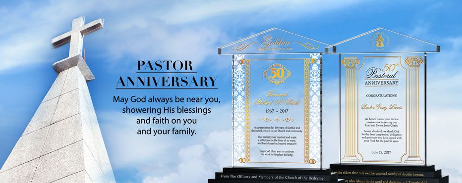 Ordination Anniversary Gifts; Pastor Anniversary Gifts - Banner 1