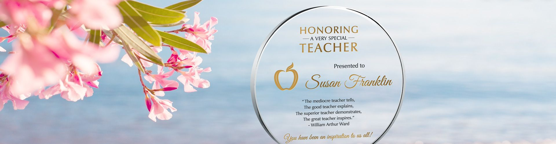 Teacher Appreciation Gift Plaques & Wording Ideas