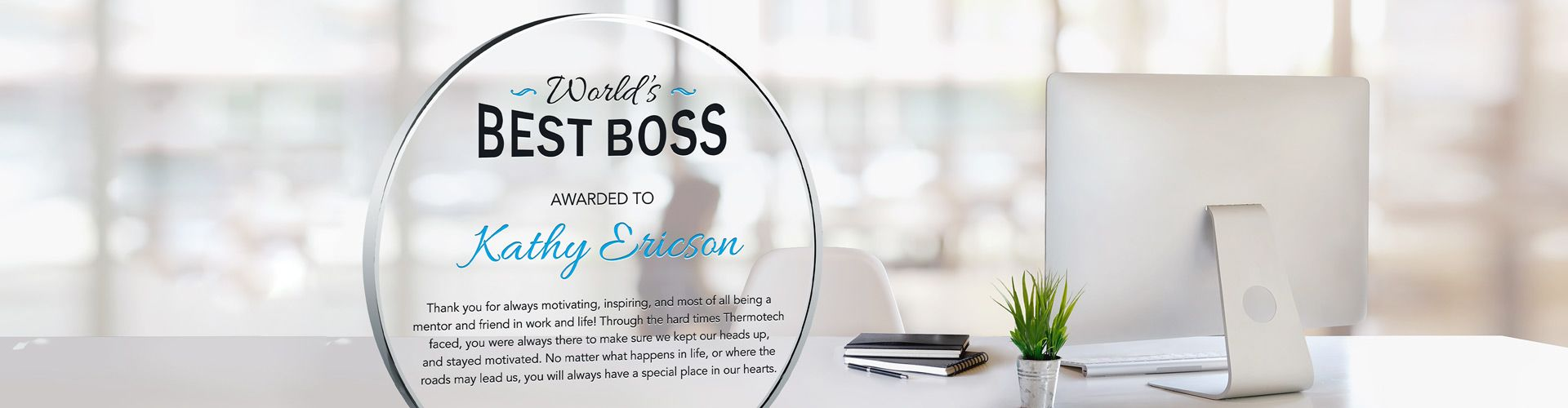 National Bosses Day Gift Ideas and Best Boss Awards | DIY Awards
