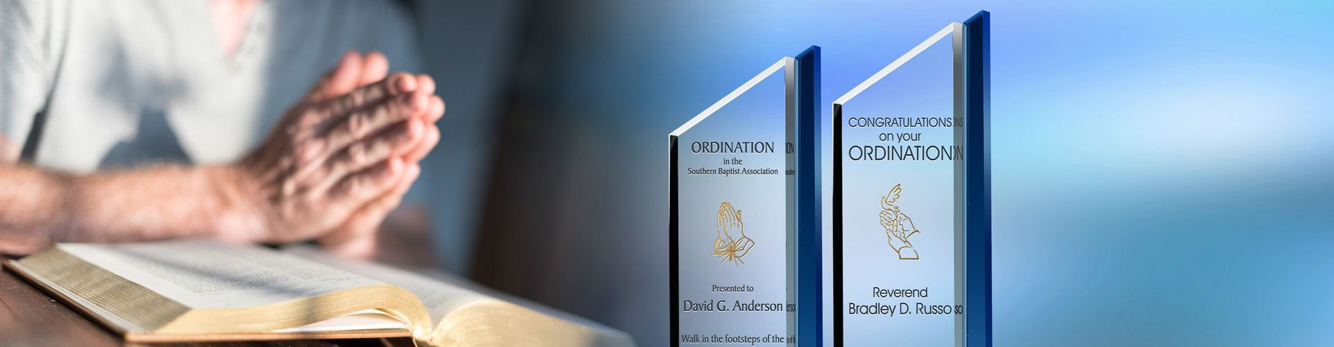 Personalized ordination gift plaques for pastors priests deacons diy awards for Ordination images