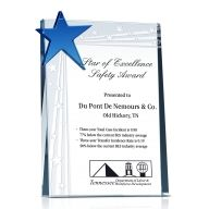 Safety Star Award Plaque