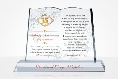 Unique Wedding Anniversary Gifts By Years Diy Awards