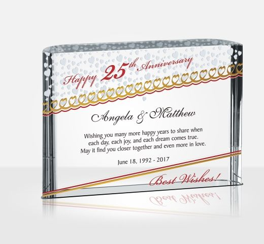 25 Year Wedding Anniversary Gift Ideas: 25th (Silver) Wedding Anniversary Gifts
