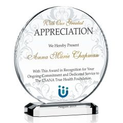 Circle Appreciation Plaque