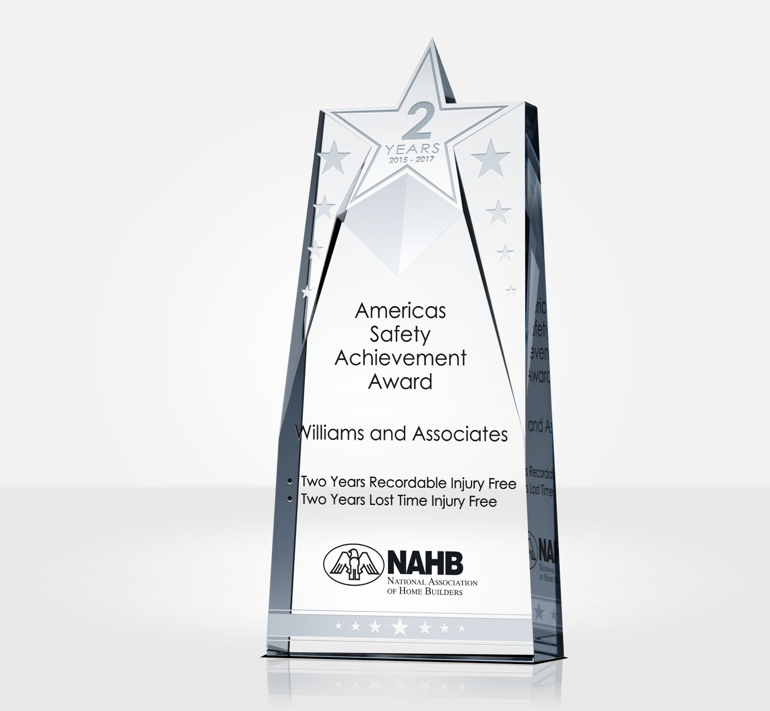 Star Safety Recognition Plaque Amp Sample Wording Ideas