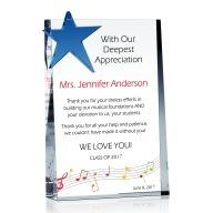 Sample Thank You Message to Music Teacher