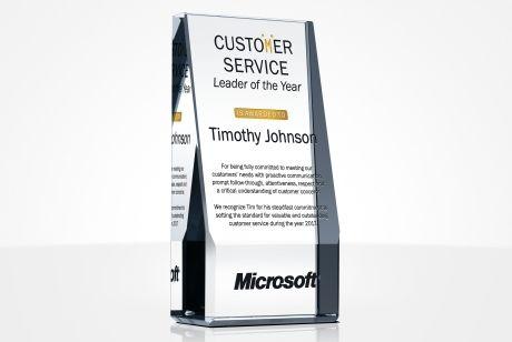 Unique Customer Service Awards And Wording Samples DIY Awards