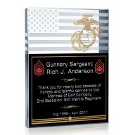Military Service Plaque