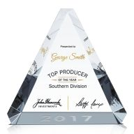 Top Producer of the Year Award Plaque