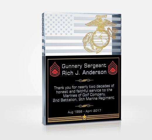 Marine Corps Service Plaques