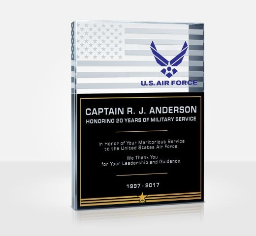Air Force Service Plaques
