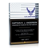 Air Force Service Plaque