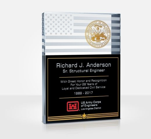 Army Service Plaques