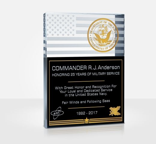 Navy Service Plaques
