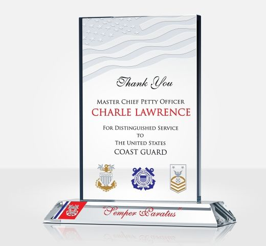 USCG Recognition Plaque