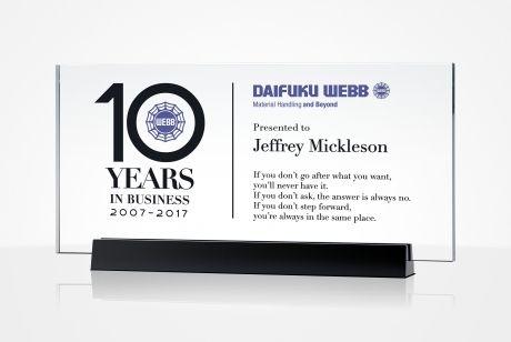 Employee Service Awards, 10/20/30 Years of Service Awards | DIY Awards