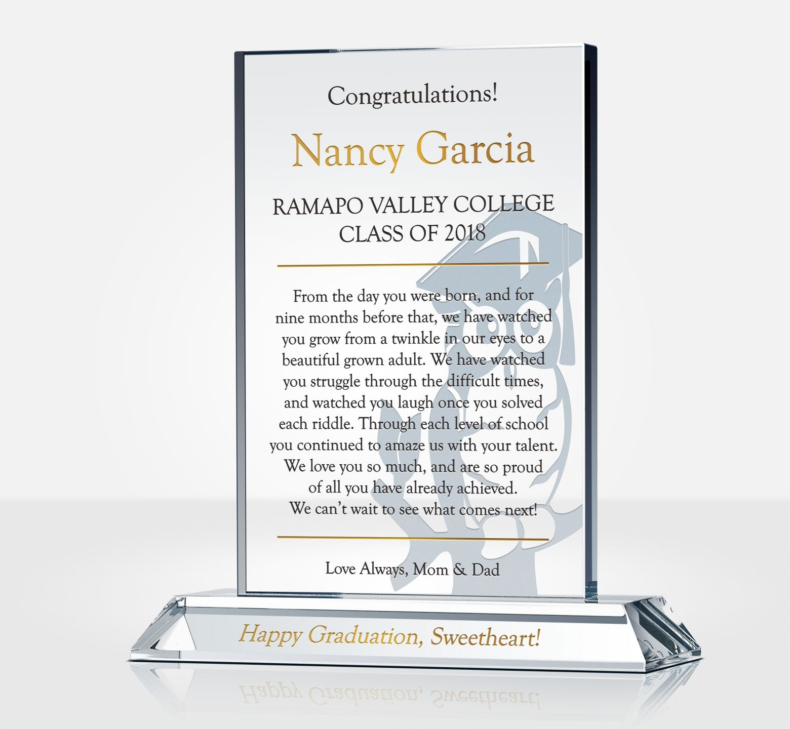 College Graduation Gift For Daughter Diy Awards