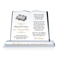 Pastor Birthday Gift Plaque