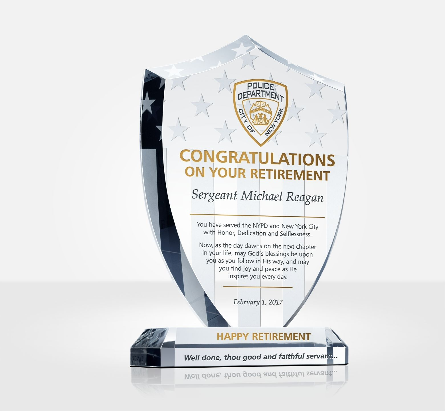 10 Years Of Service Award Wording Years Of Service Award
