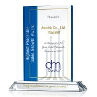 Highest Sales Growth Award Plaque
